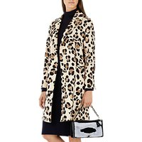 Marc Cain Leopard Leopard Print Coat, Multi