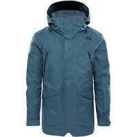The North Face Gatekeeper Mens Waterproof Insulated Jacket, Grey