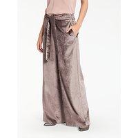 Modern Rarity Velvet Trousers, Taupe