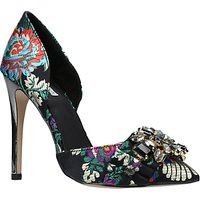 Carvela Guide Two Part Embellished Court Shoes, Multi/Other
