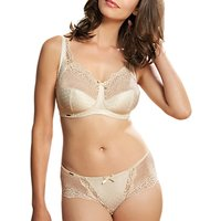 Royce Champagne Lace Detail Full Cup 1143 Bra, Ivory