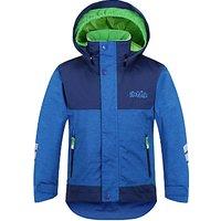 Skogstad Childrens Hittifjell 2-Layer Waterproof Jacket, Blue