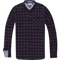 Hilfiger Denim Long Sleeve Checked Shirt, Indigo