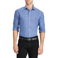 Polo Ralph Lauren Long Sleeve Sport Shirt, Jewel/Blue/Multi