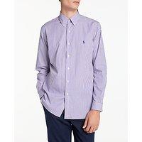 Polo Ralph Lauren Long Sleeve Shirt, Multi/Lavender