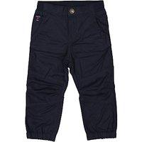 Polarn O. Pyret Baby Cargo Trousers, Navy