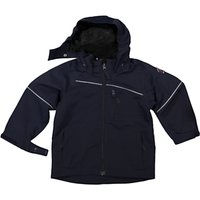Polarn O. Pyret Childrens Shell Coat, Navy