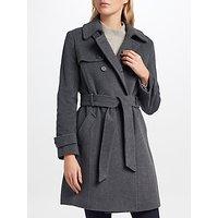 Lauren Ralph Lauren Wool Blend Trench Coat, Grey