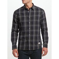 Penfield Clarke Windowpane Shirt, Grey