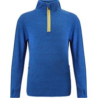 John Lewis Boys Athleisure Half Zip Top, Blue