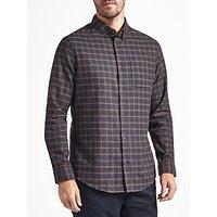 John Lewis Addison Check Shirt, Navy