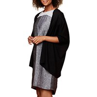 East Drape Edge To Edge Cardigan, Black