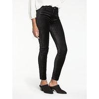 Paige Hoxton High Rise Skinny Velvet Jeans