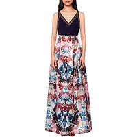 Ted Baker Frelan Mirrored Maxi Skirt, Multi