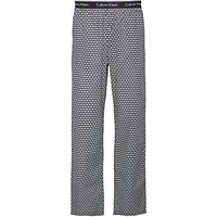 Calvin Klein Triangle Wedge Print Lounge Pants, Black