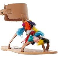 Steve Madden Colorful Tassel Sandals, Multi