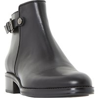 Dune Polley Block Heeled Chelsea Boots, Black
