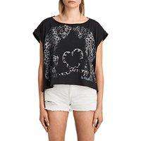 AllSaints Benin Pina T-Shirt, Fadeout Black