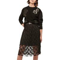Gerard Darel Alpes Skirt, Black
