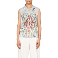 Ted Baker Kisey Patchwork Top, Pale Blue
