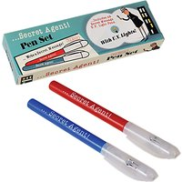 Rex International Secret Agent Pen Set