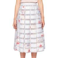 Ted Baker Chelsea Print Skirt, White/Multi