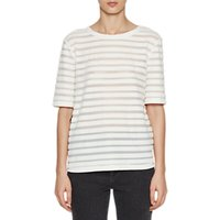 French Connection Bernice Stripe Top