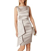 Karen Millen Satin Dress, Neutral