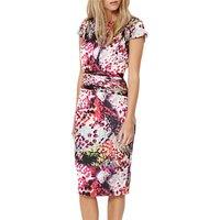 Damsel in a dress Rainbow Leopard Print Dress, Multi