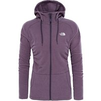 The North Face Mezzaluna Full Zip Fleece Hoodie, Purple