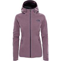 The North Face Apex Flex Shell Womens Jacket, Black/Purple