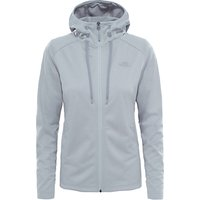 The North Face Tech Mezzaluna Full Zip Fleece Hoodie, Grey