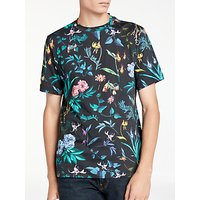 PS by Paul Smith Alpine Floral T-Shirt, Black