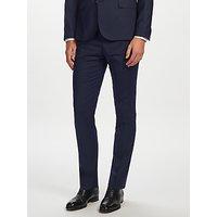 J.Lindeberg Soft Comfort Wool Slim Fit Suit Trousers, Navy