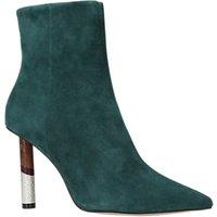 KG by Kurt Geiger Raine Stiletto Heeled Ankle Boots, Green