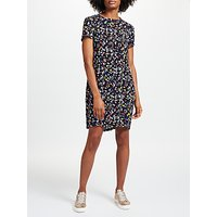 Collection WEEKEND by John Lewis Bird Print Dress, Black/Multi