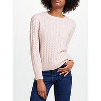 Collection WEEKEND by John Lewis Cashmere Cable Jumper