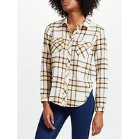 Collection WEEKEND by John Lewis Jessa Check Shirt, Pink/Yellow