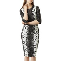 Fenn Wright Manson Fleur Dress, Black/White