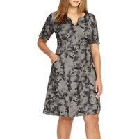 Studio 8 Demi Dress, Black/Grey