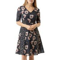 Fenn Wright Manson Petite Pansy Dress, Multi
