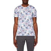 Ted Baker Drive Up Geo Print T-Shirt, White