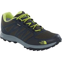 The North Face Litewave GTX Mens Hiking Shoes, Black/Lime