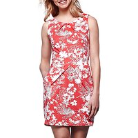Yumi Floral Tulip Dress, Red