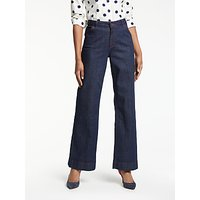 Boden Windsor Wide Leg Jeans, Indigo