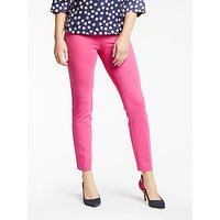 Boden Hampshire 7/8 Trousers, Party Pink
