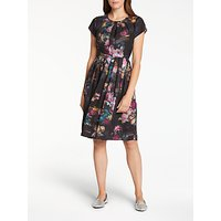 ThoughtThought Vermeer Floral Print Dress, Multi