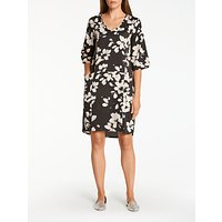 ThoughtThought Marin Floral Print Dress, Black/White