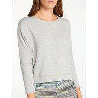 Thought Kamakura Sweatshirt, Light Grey Marl