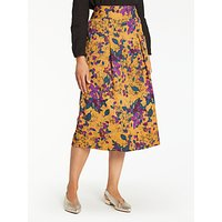 Thought Rossetti Printed Skirt, Yellow